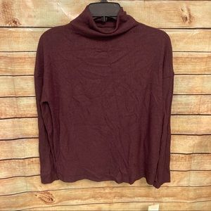 A New Day soft burgundy top
